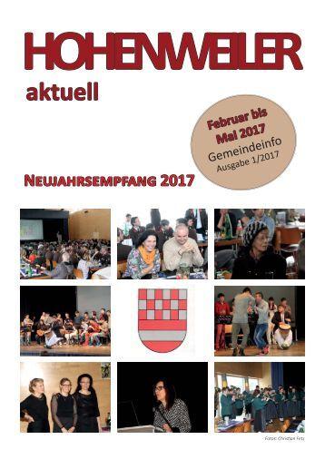 Hohenweiler aktuell Frühjahr 2017