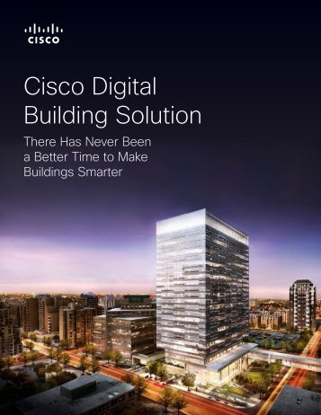 Cisco Digital Building Solution
