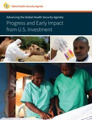 Progress and Early Impact from U.S Investment