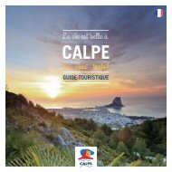 Calpe Tourist Guide