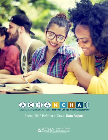 Spring 2016 Reference Group Data Report