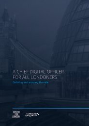 A CHIEF DIGITAL OFFICER FOR ALL LONDONERS