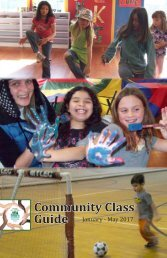 Eureka Parks and Recreation Community Class Guide January to May 2017