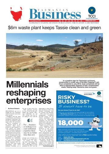 Tasmanian Business Reporter February 2017