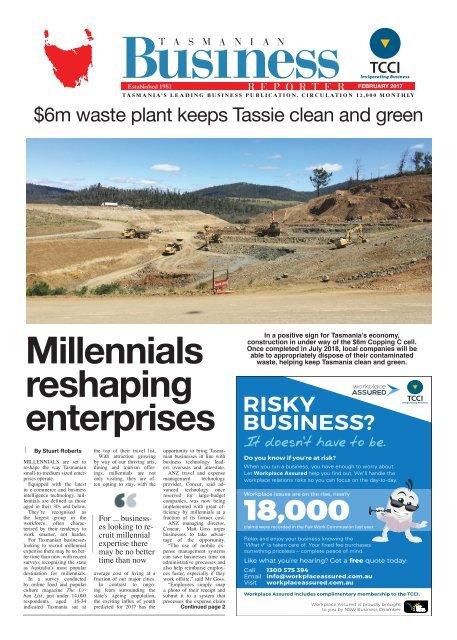 Tasmanian Business Reporter February 2017