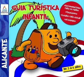 Alicante Guía turística infantil