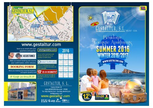 Benidorm Touristic Apartments 2016/2017
