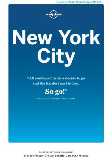 Travel Guide New York City