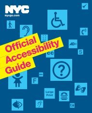 NEW YORK Accessibility Guide