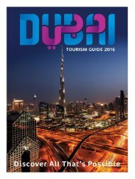 Dubai Tourism Guide 2016
