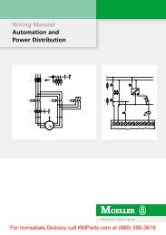 Moeller Wiring Manual 02/05 - Klockner Moeller Parts