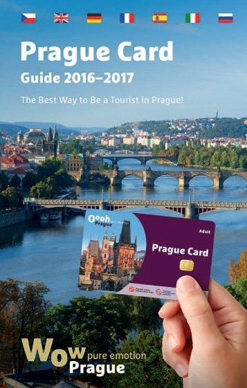 Prague Card Guide 2016-2017