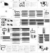 Philips Microchaîne - Guide d'installation rapide - CES