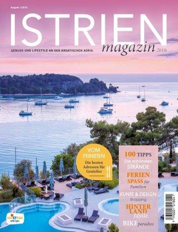 Istrien Magazine 2016