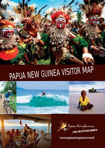 Papua New Guinea Visitor Map