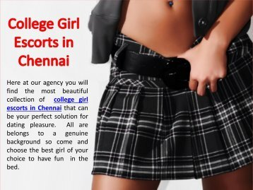 Young College Girl Escorts in Chennai