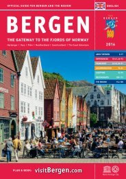 Official Guide for Bergen and the Region
