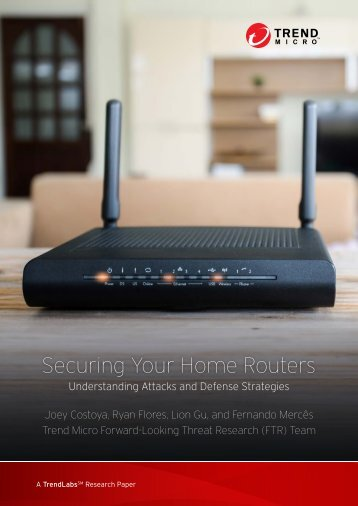 Securing Your Home Routers