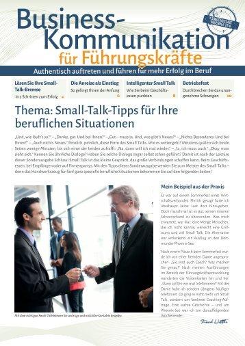 Small-Talk im Berufsleben