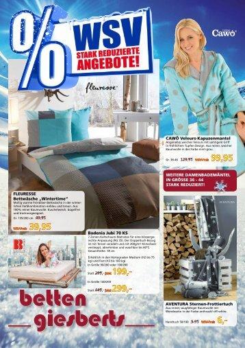 Winter-Schluss-Verkauf 2017