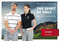 XFORE GOLFWEAR COLLECTION 2017
