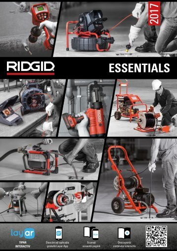 Ofertă Ridgid ESSENTIALS 2017