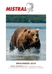 Mistral Europäischer Braunbär 2019