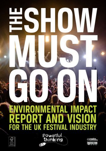 REPORT AND VISION
