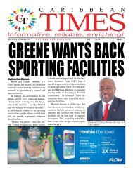 Caribbean Times 88th Issue - Wednesday 1st February 2017