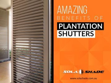 Amazing Benefits of Plantation Shutters in Perth