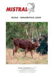 Mistral Rusa Mauritius 2019