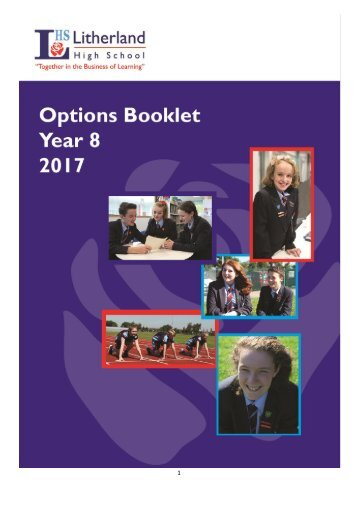 LHS Options Booklet 2017 FINAL
