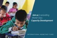 Join us in providing World-Class Capacity Development