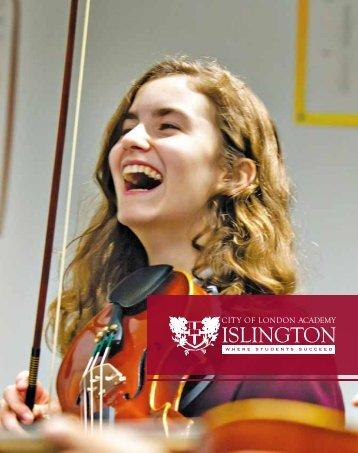 City of London Academy Islington Prospectus