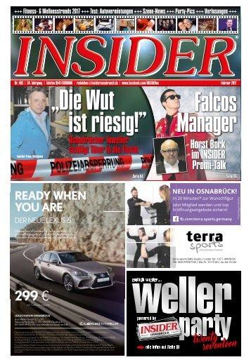 INSIDER Osnabrück // Februar 2017 // No. 403