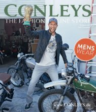 Каталог Conleys Mens Wear весна 2017. Заказ одежды на www.catalogi.ru или по тел. +74955404949