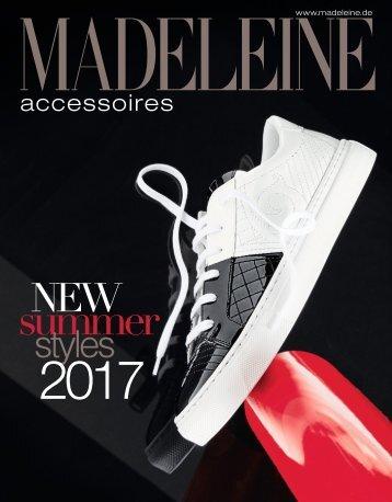 Каталог Madeleine Accessoires весна-лето 2017. Заказ обуви на www.catalogi.ru или по тел. +74955404949