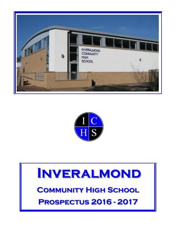 School Prospectus Booklet 2016-17