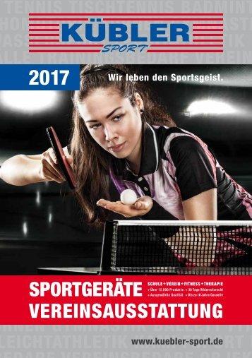 Kübler Sport Frühjahrskatalog 2017 Mobile