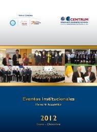 Memoria Fotográfica CENTRUM Católica 2012