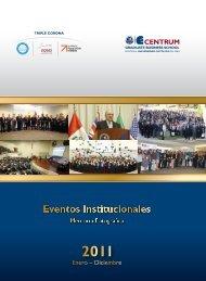 Memoria Fotográfica CENTRUM Católica 2011