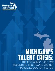 Michigan's Talent Crisis