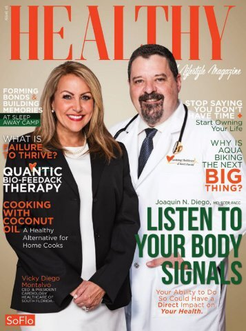 Healthy South Florida Issue 45 - Listen to Your Body Signals