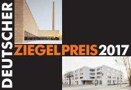 Deutscher Ziegelpreis 2017 | Dokumentation