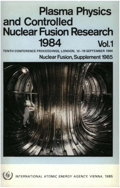 1984 Vol.1 - Nuclear Sciences and Applications - IAEA