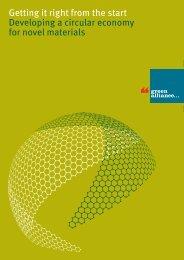 Developing a circular economy for novel materials