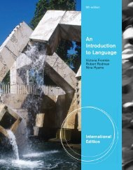 An introduction to language - SEAS