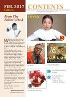 GLAMSQUAD MAGAZINE FEBRUARY 2017 - Page 2