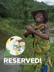 An Atlas on Indigenous Peoples facing Nature Conservation