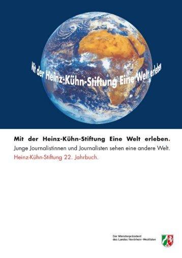 Über die Vergangenheit in die Zukunft - Heinz-Kühn-Stiftung